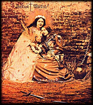 Saint Therese of Lisieux portraying Joan of Arc